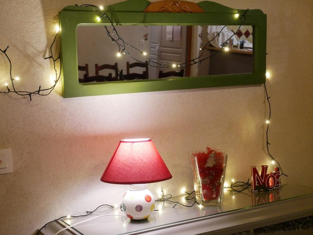 Gîte décoré pour Noël