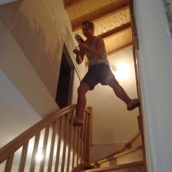Johana au crepis escalier bourrachot