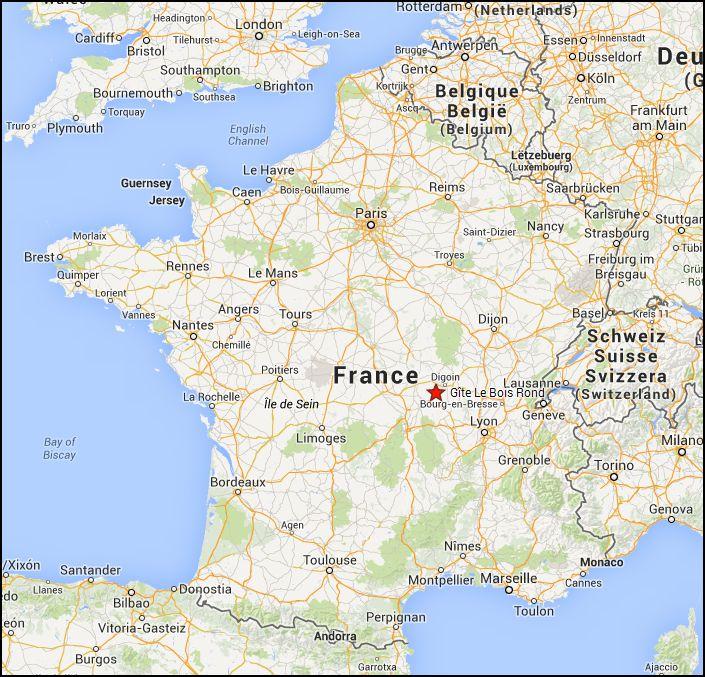 Vous avez cherché situer clermont ferrand sur la carte de france - Voyages - Cartes